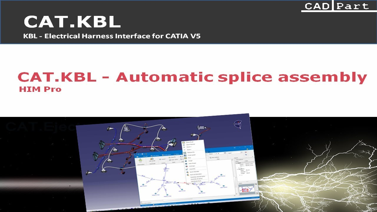 Catkbl Cadpart Cad Software For Auto Electrical Wiring Videos Cabinet